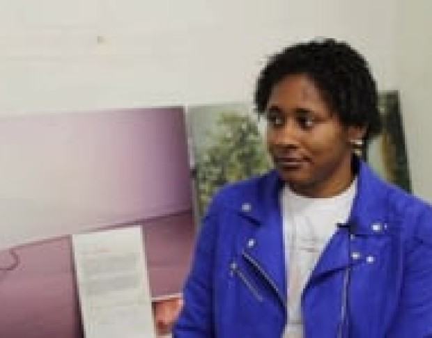 Vimeo image of Bloomberg New Contemporaries 2012: Nicola Frimpong