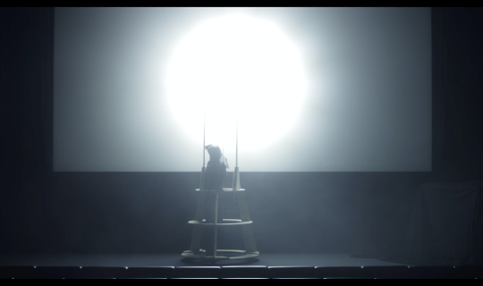 Serena Huang, I can see you, the light, and a rope but still have to move a bit to your left the play, 2019.png